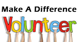 Make a difference - volunteer!